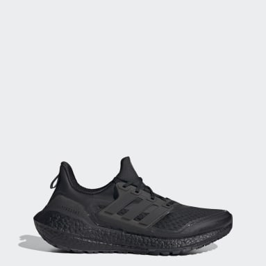 Men Running Black Ultraboost 21 COLD.RDY Shoes