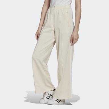 Calça Adicolor Classics Branco Mulher Originals
