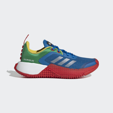 Children Running Blue adidas x LEGO® Sport Shoes