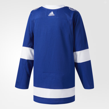 Men's Hockey Blue Lightning Home Authentic Pro Jersey