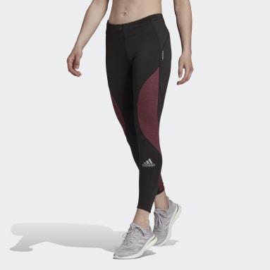 Women's Running Black Fast Running Primeblue Leggings
