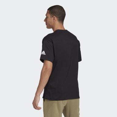 Sport Inspired Black Essentials Logo Tee (Gender Neutral)