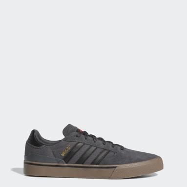 Men's Originals Grey Busenitz Vulc II Shoes