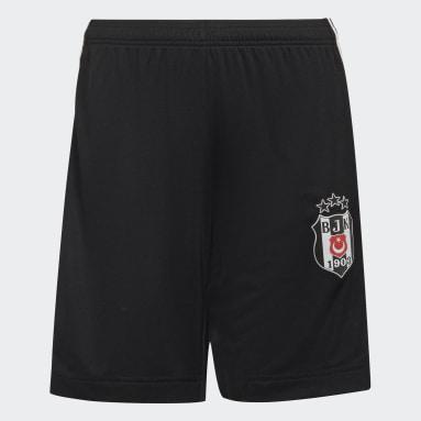 Genç Futbol Siyah Beşiktaş JK 21/22 İç Saha Şortu