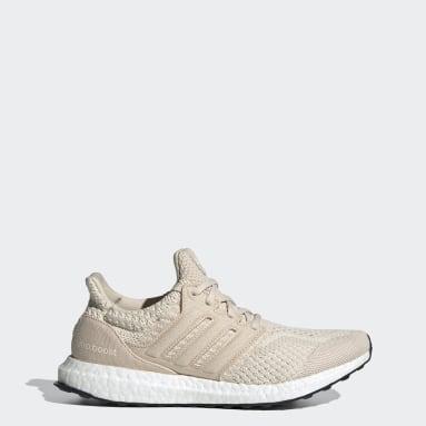 Sapatos Ultraboost 5.0 DNA Bege Mulher Running