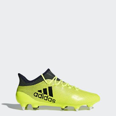 X 17.1 SG Amarillo Hombre Fútbol