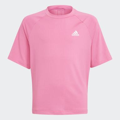 розовый Футболка для фитнеса AEROREADY Dance