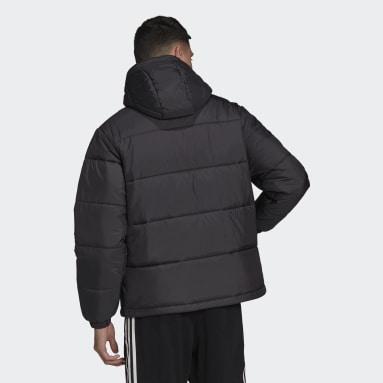 Veste Padded Hooded Puffer Noir Hommes Originals