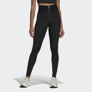 Women Originals Black Adicolor Fashion Tights