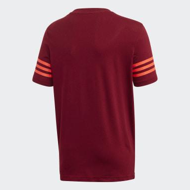 Camiseta Outline Burgundy Niño Originals