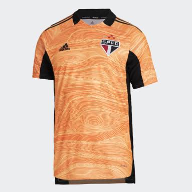 CAMISA GOLEIRO 2 SÃO PAULO FC 21/22 Laranja Homem Futebol