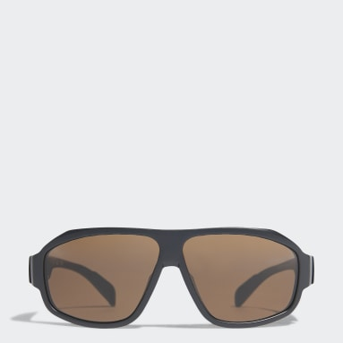 Running Black Sport Sunglasses SP0025