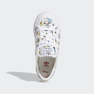Kids Originals White Nizza x Disney Sport Goofy Shoes
