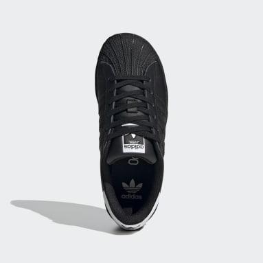 Zapatillas Superstar (UNISEX) Negro Niño Originals