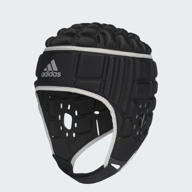 Casco Protector Rugby Negro Hombre Rugby