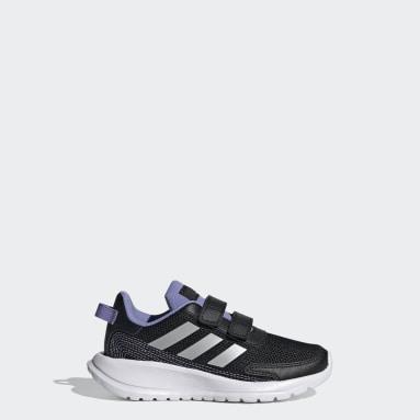 Children Running Black Tensor Shoes