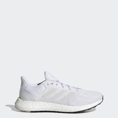 Men Running White Pureboost 21 Shoes