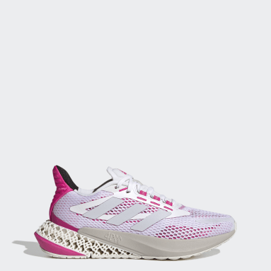 Women's Running White 4DFWD Pulse Shoes