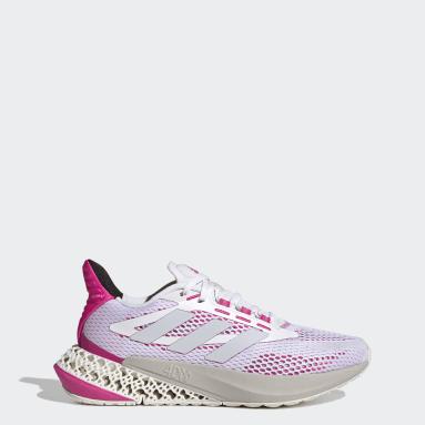 Dames Hardlopen Wit adidas 4DFWD Pulse Schoenen