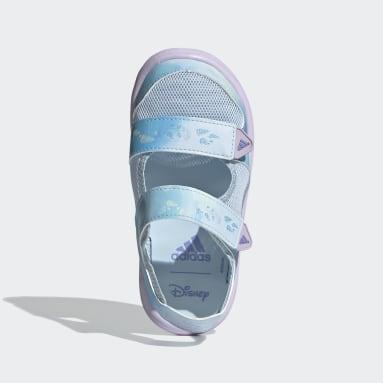 เด็ก ว่ายน้ำ สีน้ำเงิน รองเท้าแตะสวมสบาย