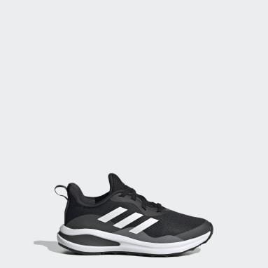 Chaussure de running FortaRun Lace Noir Enfants Running