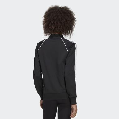 Dames Originals zwart Primeblue SST Trainingsjack