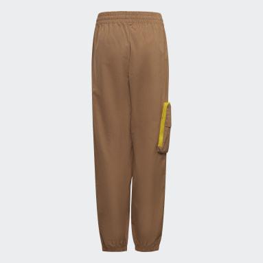Kids Training Brown adidas x LEGO® Baumhaus Pants