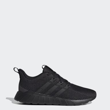 Men Running Black Questar Flow Shoes