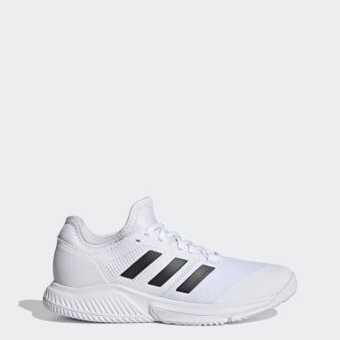 Sapatos Court Team Bounce – Pavilhão Branco Mulher Tênis De Mesa
