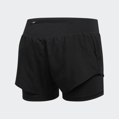 Shorts Adapt to Chaos Negro Mujer Running