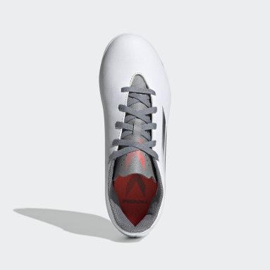 Kids Football White X Speedflow.4 Indoor Boots