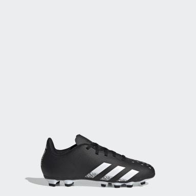 Children Soccer Black Predator Freak.4 Flexible Ground Cleats