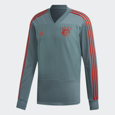 Herr Fotboll Grå FC Bayern Training Top