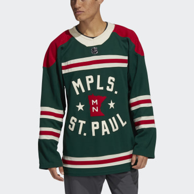 Maillot Wild Winter Classic Authentic Pro vert Hommes Hockey