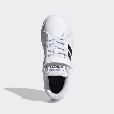 Children sport_inspired White Grand Court Shoes
