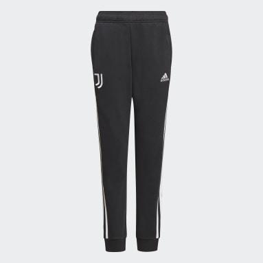 Youth Soccer Black Juventus Sweat Pants