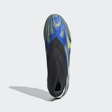 Chaussure Nemeziz+ Terrain souple Bleu Soccer