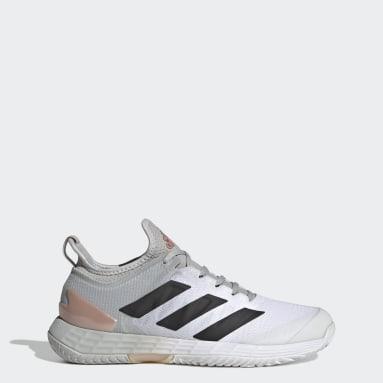 Women Tennis Grey Adizero Ubersonic 4 Tennis Shoes