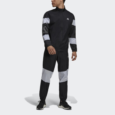 Men Sportswear Black adidas Sportswear Tracksuit