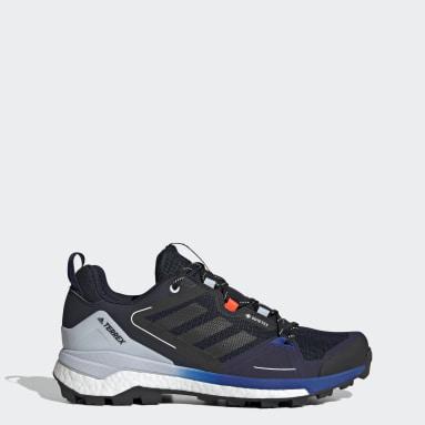 Men TERREX Blue Terrex Skychaser GORE-TEX 2.0 Hiking Shoes