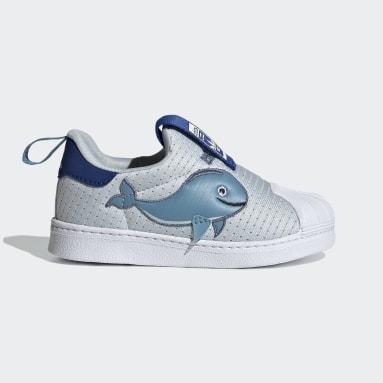 Kinder Originals Superstar 360 Primeblue Schuh Blau