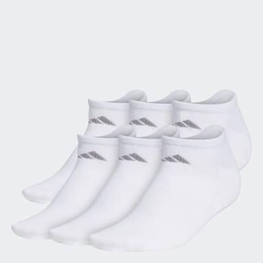 Women's Training White Superlite No-Show Socks 6 Pairs