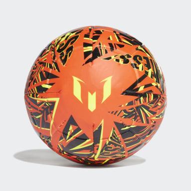 Men Soccer Orange Messi Club Ball