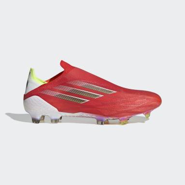Futbol Kırmızı X Speedflow+ Çim Saha Kramponu