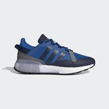 Men Originals Blue ZX 2K Boost Pure Shoes