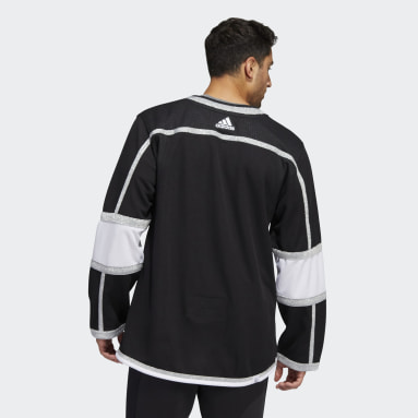 Men's Hockey Black Kings Home Authentic Jersey