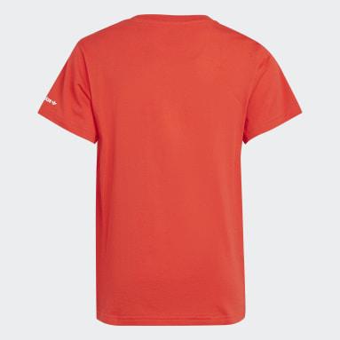 T-shirt Adicolor Rouge Enfants Originals