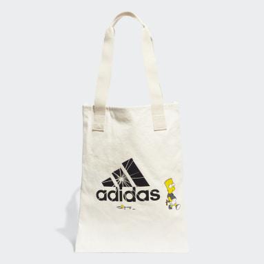 Sportswear Hvid The Simpsons Shopper tote-taske