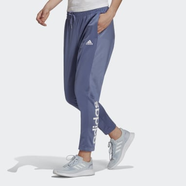 Pantalón Essentials Logo 7/8 Púrpura Mujer Diseño Deportivo