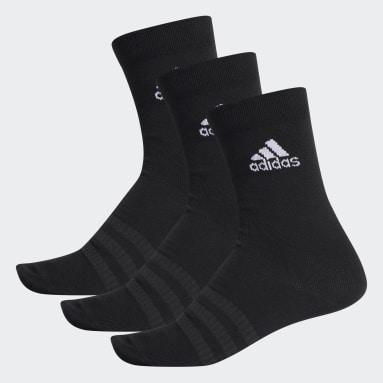 Training Black Crew Socks 3 Pairs